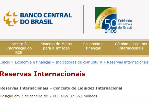 reservas 2003