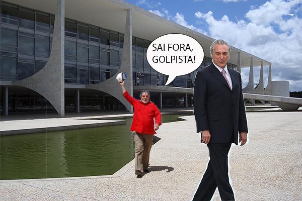 Lula expulsa temer