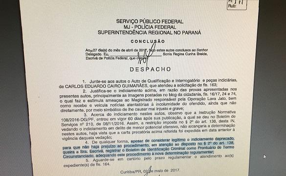 recuo pf 1
