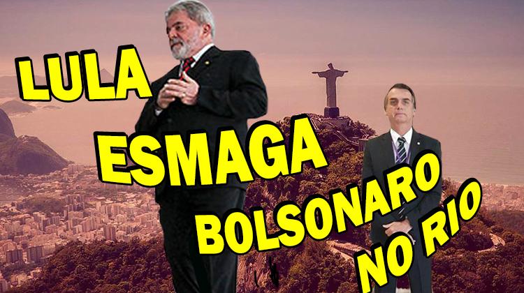 Jair Bolsonaro e Lula estarão em Curitiba amanhã. O deputado do PSL  desafiou Lula sobre qual dos dois coloca mais gente na rua. A rigor eaa912a12192a