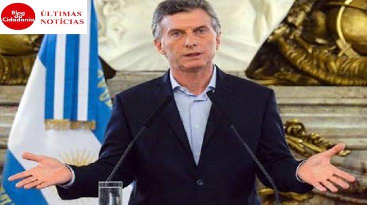 Mauricio Macri, Argentina, FMI
