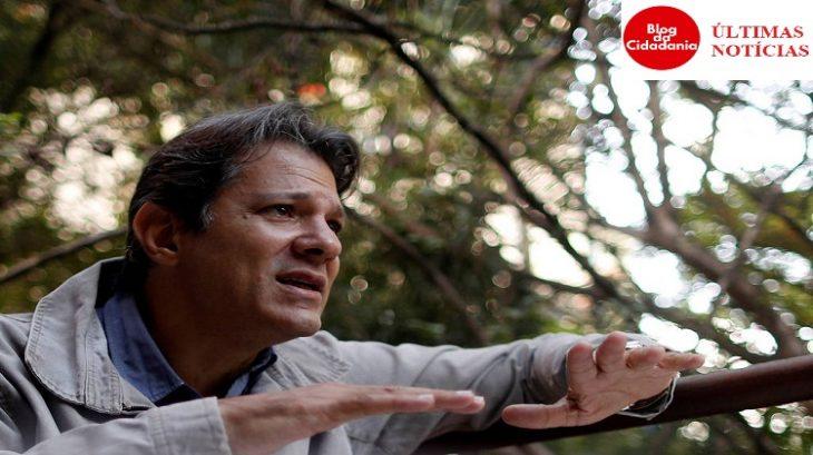 Ex-prefeito Fernando Haddad