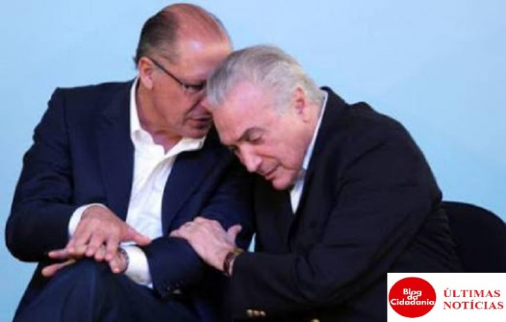 Geraldo Alckmin e Temer