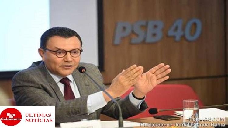 Presidente do PSB Carlos Siqueira