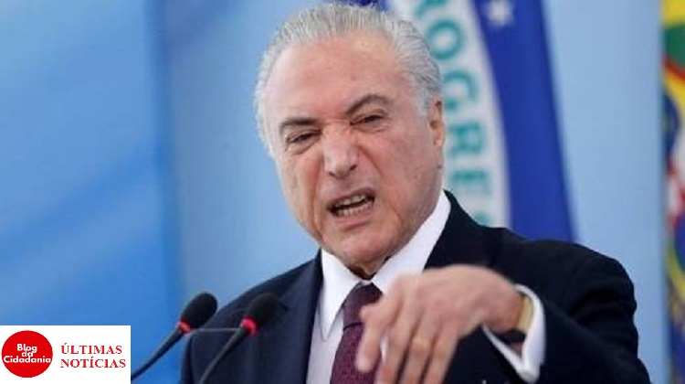 Presidente do Brasil Michel Temer