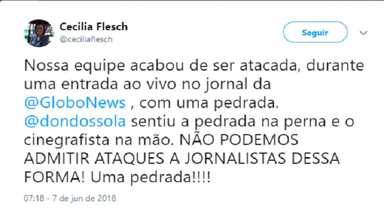 equipe de tv globo news