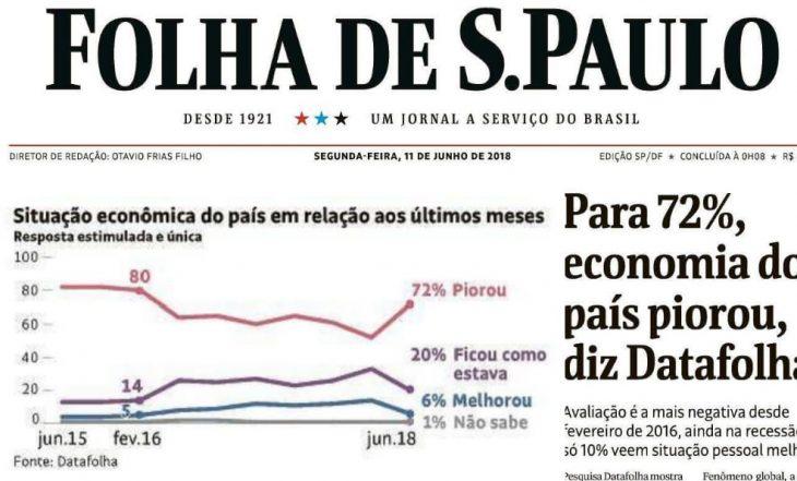 Jornal Folha de São Paulo