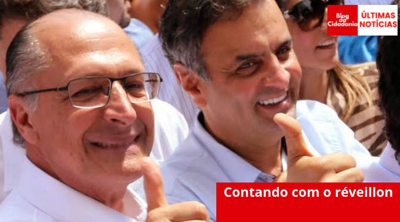 Ala de Alckmin é contra expulsar Aécio: o povo vai esquecer depois do natal, dizem