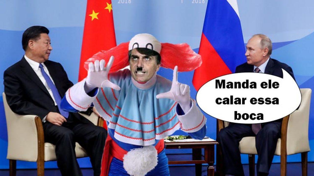 Rússia e China mandam Bolsonaro e Trump calarem a boca - Blog da Cidadania