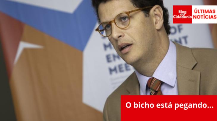 Bruno Rocha/Fotoarena/Estadão Conteúdo O ministro do Meio Ambiente,