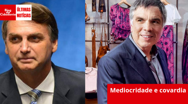 Facebook-Jair Bolsonaro/ Germano Lüders/Site EXAME