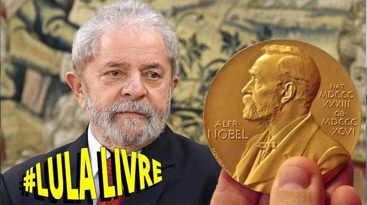 Prêmio de Paris a Lula sinaliza Nobel da Paz