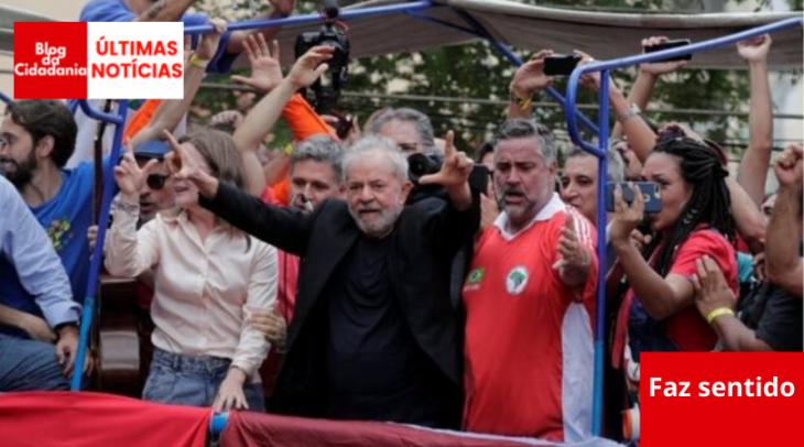 Resultado de imagem para Para Lula, esquerda vence em 2022