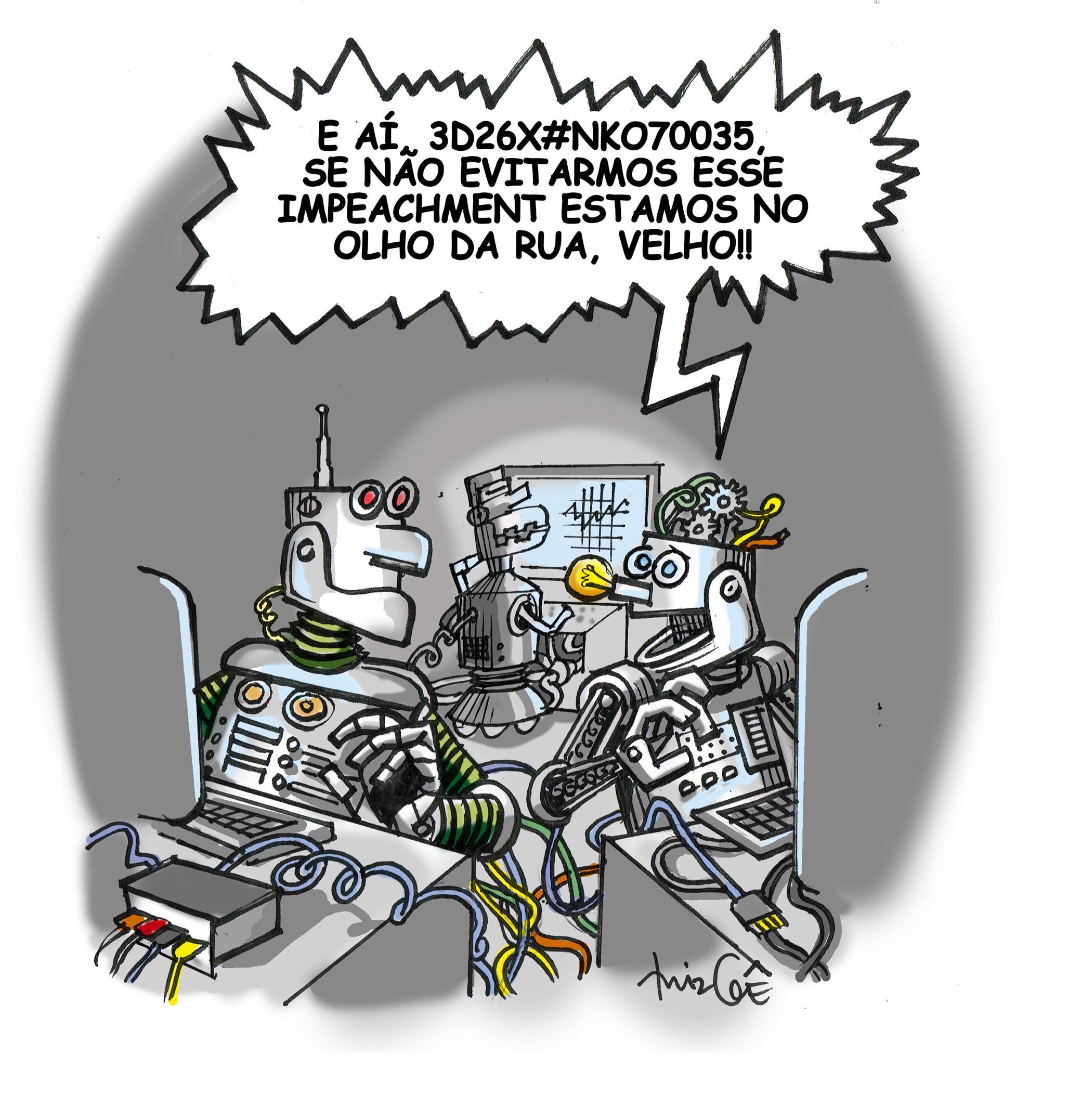 TRIBUNA DA INTERNET | Um aviso aos novos robôs que passaram a frequentar agora o espaço livre da Tribuna