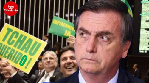 Centrão já admite impeachment de Bolsonaro - Blog da Cidadania
